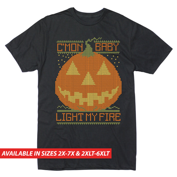 Jack O'Lantern Sweater - Men's Big & Tall Short Sleeve Tee