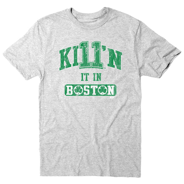 KI11'n It Boston Style - Short Sleeve Tee