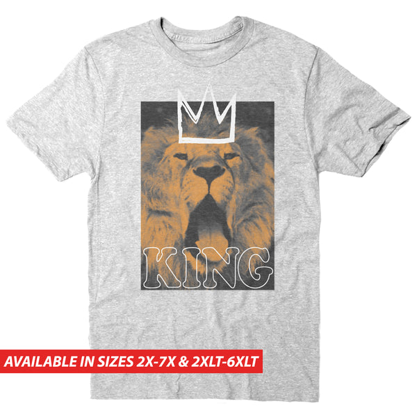 King Lion - Men's Big & Tall Short Sleeve Tee