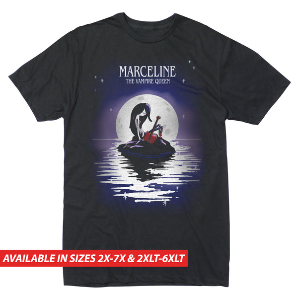 Marceline Vampire Queen Moon - Men's Big & Tall Short Sleeve Tee