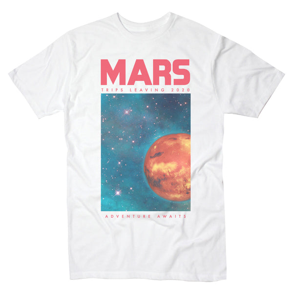 Mars Adventure Awaits - Men's Tee