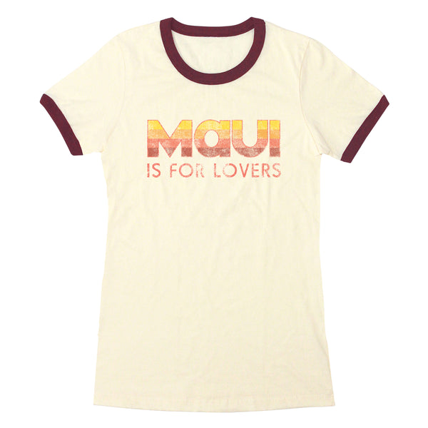 Maui is for Lovers - Women's Ringer Tee
