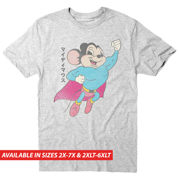 Mighty Mouse Kanji - Men's Big & Tall Short Sleeve Tee