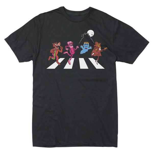 Monster Cereals Crossing Road