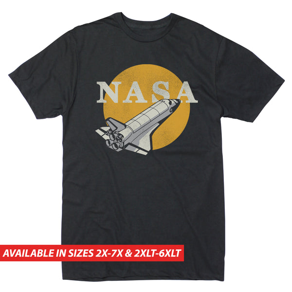 NASA Circle Shuttle - Men's Big & Tall Short Sleeve Tee