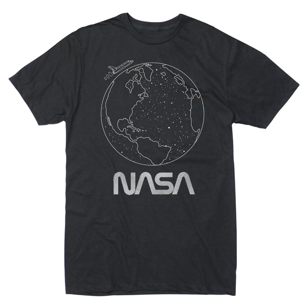 NASA Earth Outline - Men's Tee