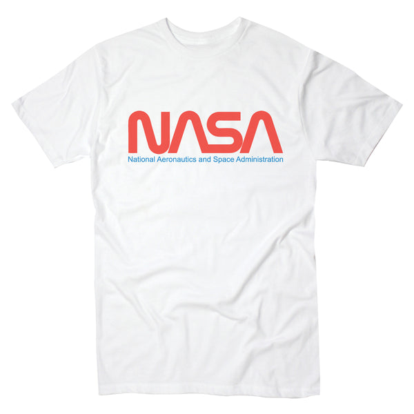 NASA Logo Red White Blue