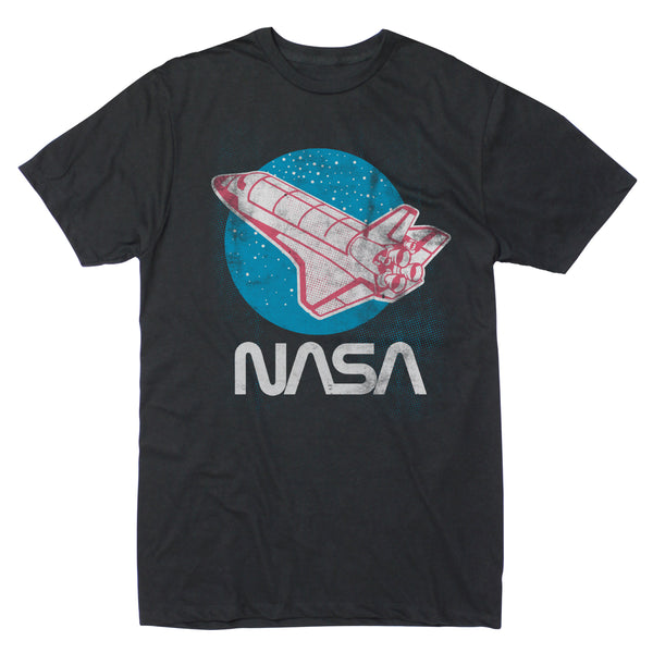 NASA Retro Halftone - Men's Tee