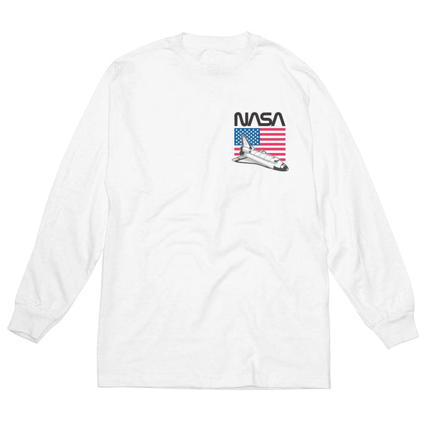NASA Stars & Stripes - Men's Long Sleeve Tee