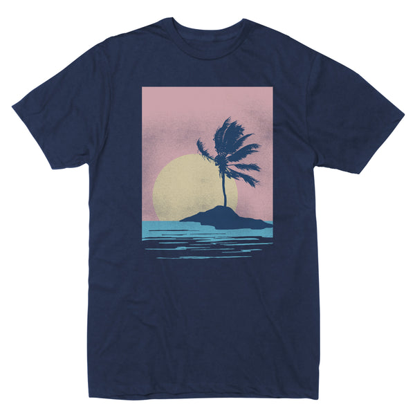 Palm Island Sunset - Men's Tee