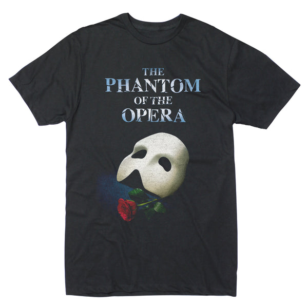 Phantom of the Opera Mask Rose Poster