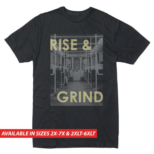 Rise & Grind Subway - Men's Big & Tall Short Sleeve Tee