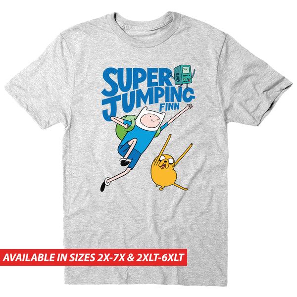 Super Jumping Finn - Men's Big & Tall Short Sleeve Tee