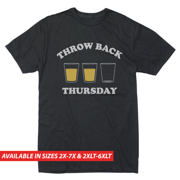 Throw Back Thursday Shot- Men's Big & Tall Short Sleeve Tee