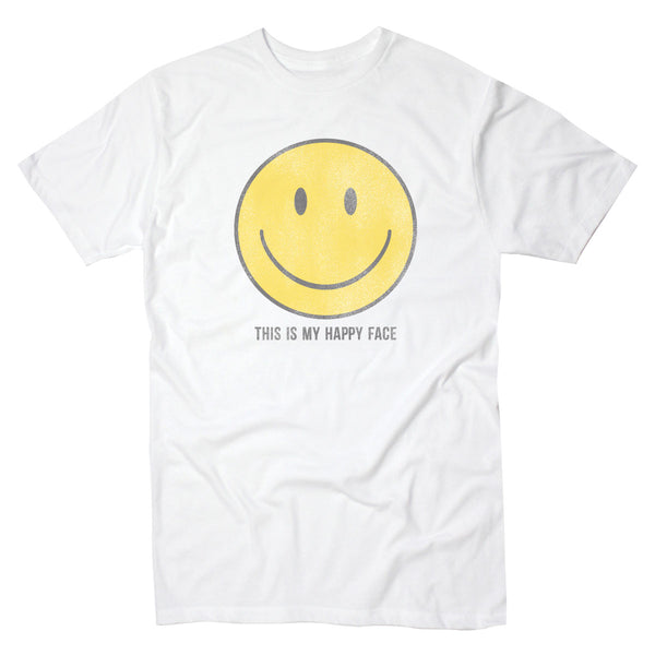 This is My Happy Face - Men's Tee