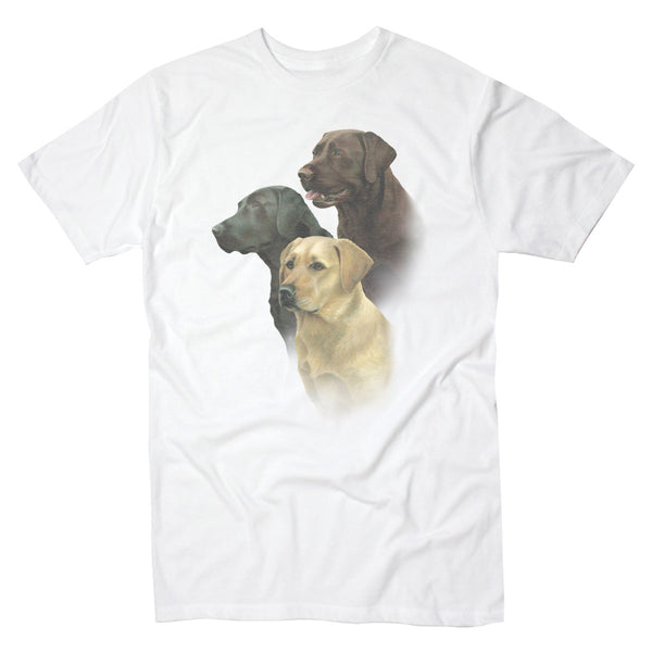 Three Lab Portrait - Men's Tee