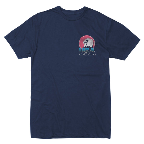 USA Eagle Sun - Men's Tee