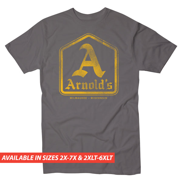 Happy Days Arnolds Logo - Men's Big & Tall Short Sleeve Tee