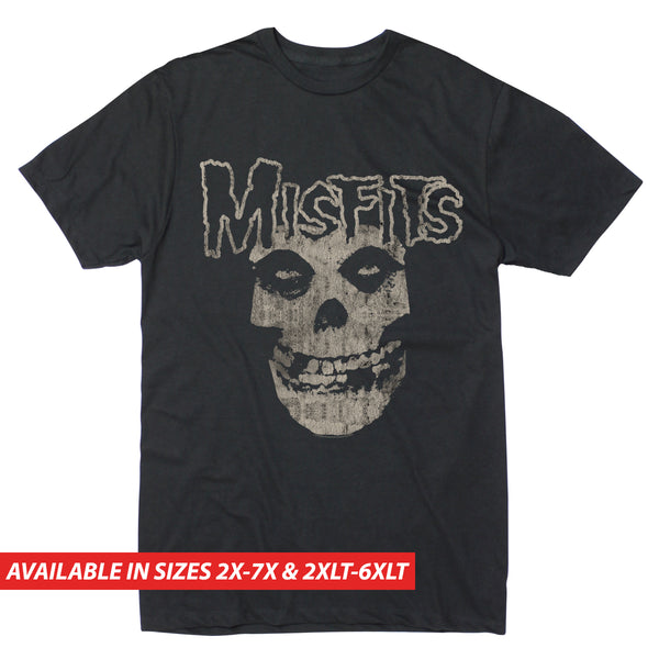 Misfits Skull Logo - Men's Big & Tall Short Sleeve Tee