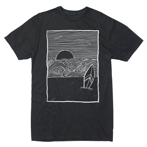 Surfboard Shore - Men's Tee