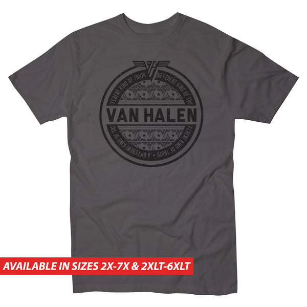 Van Halen Different Truth Circle - Men's Big & Tall Short Sleeve Tee