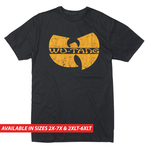 Wu-Tang Gold Logo - Men's Big & Tall Short Sleeve Tee