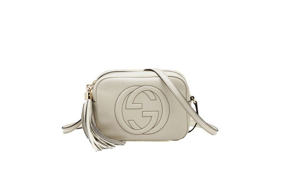 c562c0f52b509 Gucci Disco Womens Purse in White – SharkStores