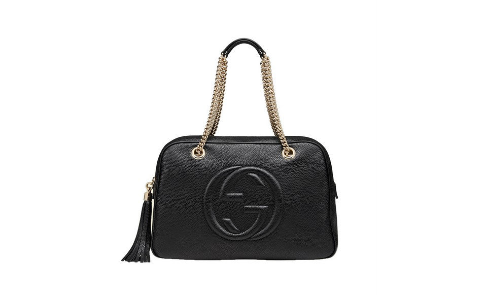 dedb9b40c5b7f Gucci Soho Womens Purse in Black