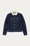 FOURTEEN DENIM JACKET - RINSE BLUE