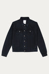 FOURTEEN DENIM JACKET - DARK BLUE OIL