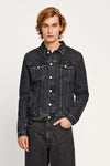 FOURTEEN DENIM JACKET - MEDIUM BLACK