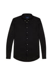 LYOCELL SHIRT - BLACK