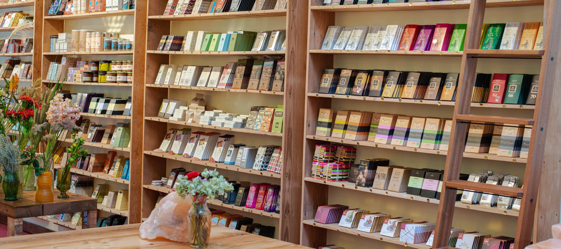 The largest curated collection of craft chocolate in the world.