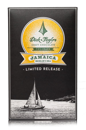 Dick Taylor Jamaica Bachelor's Hall 75% Dark Chocolate Limited Release