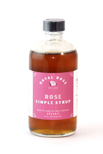 Royal Rose Rose Simple Syrup
