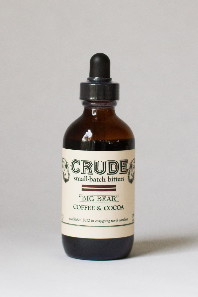 "Crude Coffee & Cocoa ""Big Bear"" Bitters"