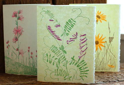 Gwen Frostic Card-Pantry-The Meadow
