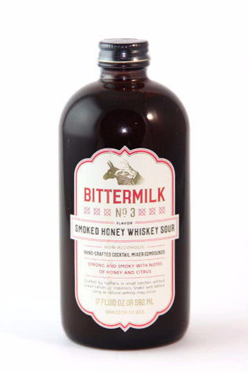 Bittermilk No. 3 Smoked Honey Whiskey Sour Syrup-Bitters, Syrups and Shrubs-The Meadow