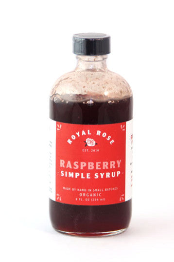 Royal Rose Raspberry Simply Syrup