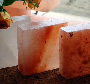 "Himalayan Salt Block - 5x5x1.5"" Serving Plate-Salt-The Meadow"