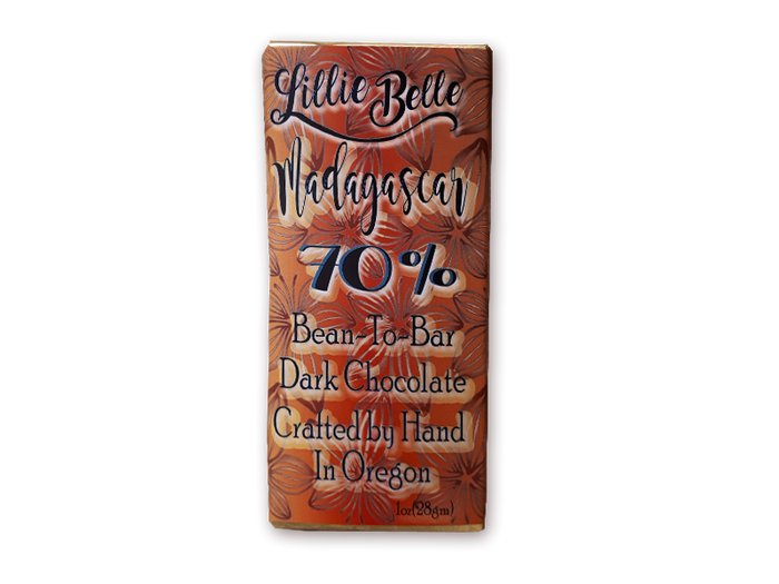 Little Lillie Belle Madagascar 70% Dark Chocolate