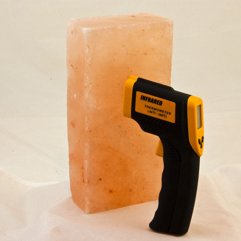 Awesome Chef's Salt Block Set with Infrared Thermometer-Himalayan Salt Block-The Meadow