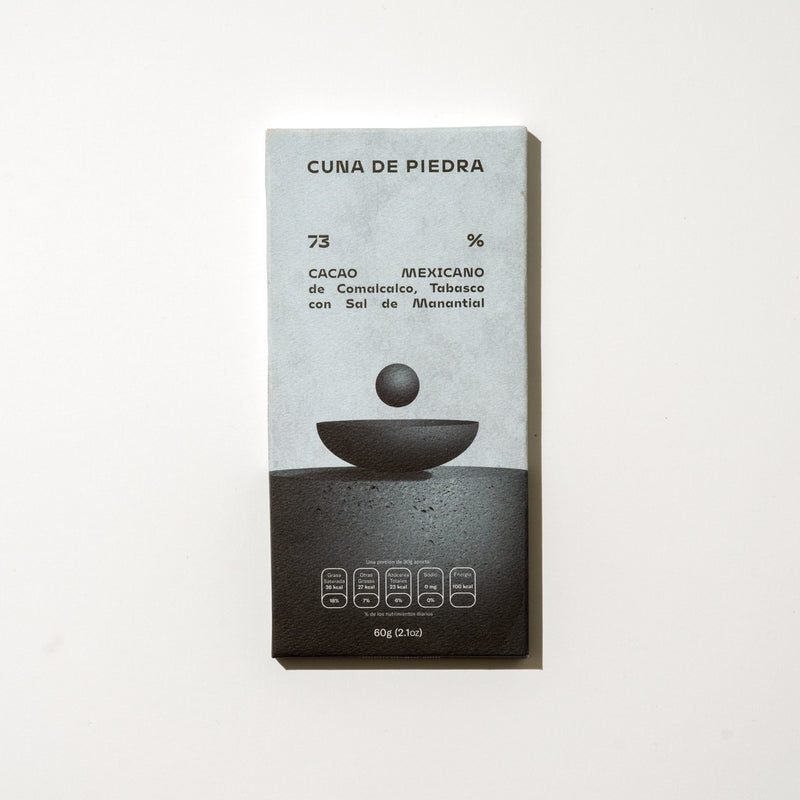 Cuna de Piedra 70% Mexican Dark Chocolate with Ancient Spring Salt