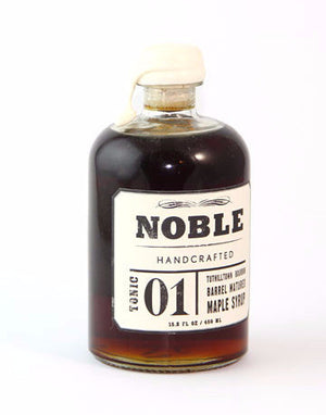 Noble Bourbon Maple Syrup-Pantry-The Meadow