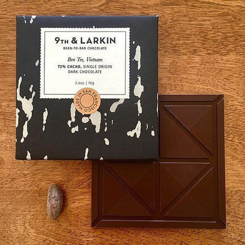 9th & Larkin Vietnam Ben Tre 72% Dark Chocolate