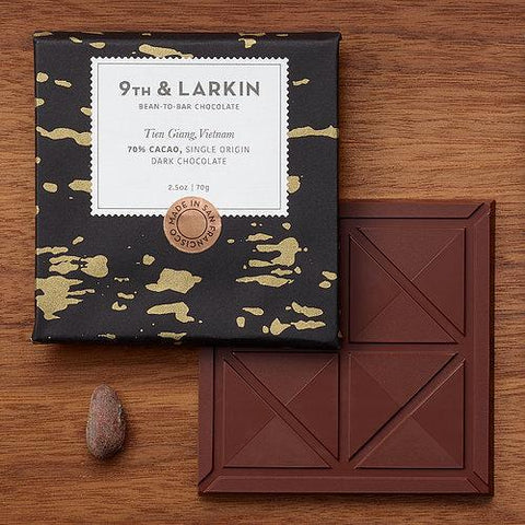 9th & Larkin Vietnam Tien Giang 70% Dark Chocolate