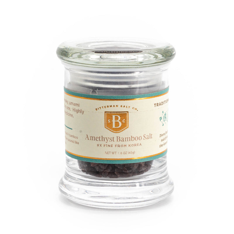 Amethyst Bamboo 9x Korean Sea Salt
