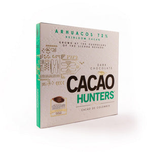 Cacao Hunters Arhuacos Colombia 72% Dark Chocolate-Chocolate-The Meadow