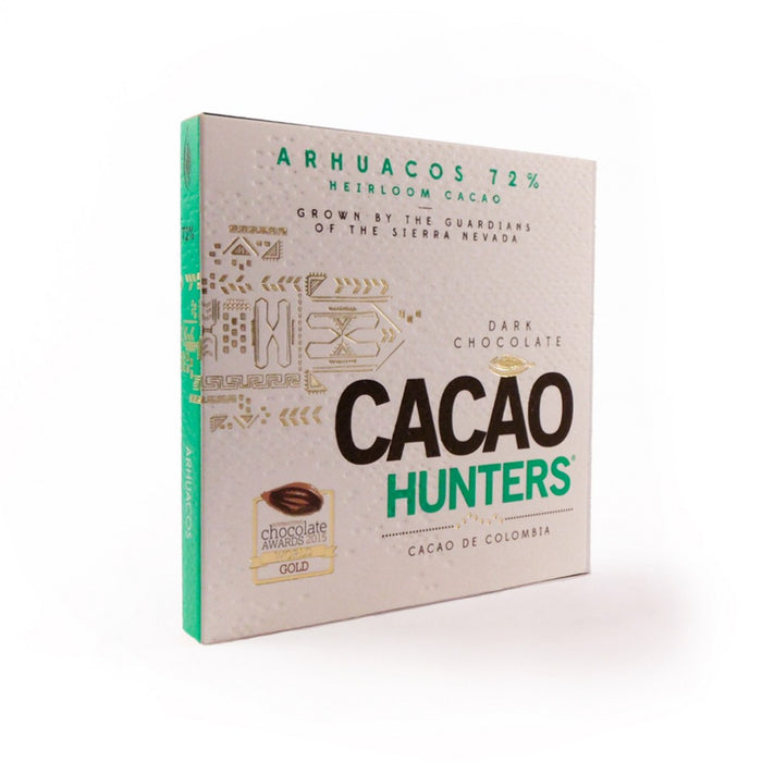 Cacao Hunters Arhuacos Colombia 72% Dark Chocolate