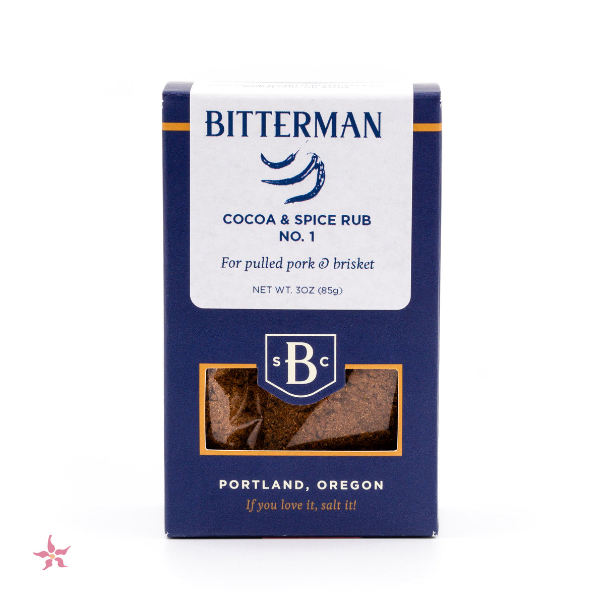 Bitterman's Cocoa & Spice Rub Salt No. 1